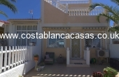 CBC1308, Fantastic, Three Bedroom Townhouse With Solarium & 360 Degree Panoramic Views In Ciudad Quesada.