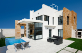 CBCL1812, Cabo Roig Fabulous new build detached 3 bedroom 3 bathroom luxury villa with private swimming pool and solarium