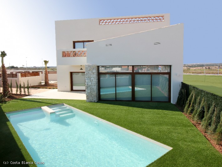 CBC1313, Spanish Property Benijofar, Costa Blanca South, Fabulous 3 bed 2.5 bath, New Build Viilas