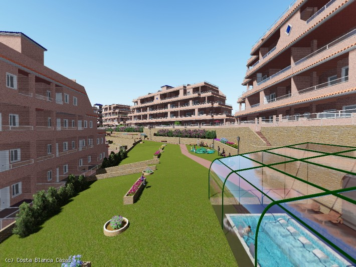 CBC1435,  New Build Apartments, Villamartin  2 bed 2 bath and  3 bed 2 bath  and Penthouse Apartments 200m from Villamartin Golf Course