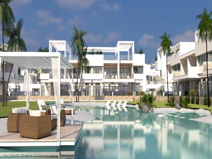 CBC1445, New Build Modern design Apartments,2 bed 2 bath  Torrevieja, Los Balcones area